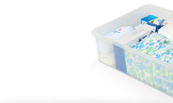 9501196 – Diaper Changing Table Storage Bins- 12-Per Case