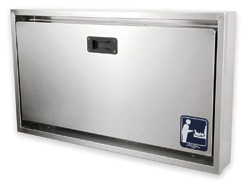 100-SSC-SM Surface Mount Stainless Clad Changing Station Image