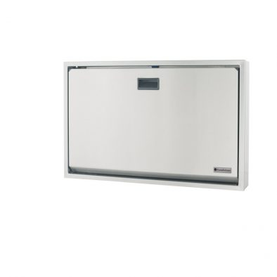 100SS-SM – Legacy Horizontal Surface Mount Stainless Steel Baby Changing Station Image