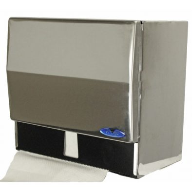 102 - Universal Roll and Single Fold Dispenser with lock