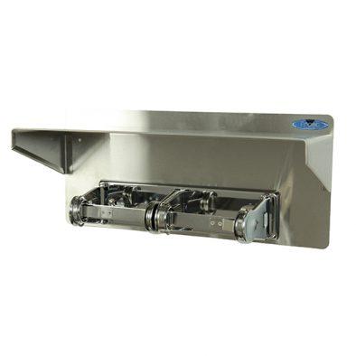 158-10 - Toilet Tissue Dispenser with Shelf