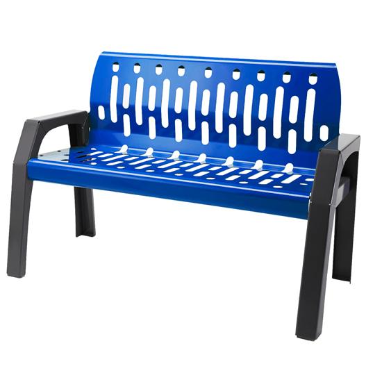 2040-BLUE - Bench