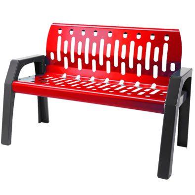 2040-RED - Bench