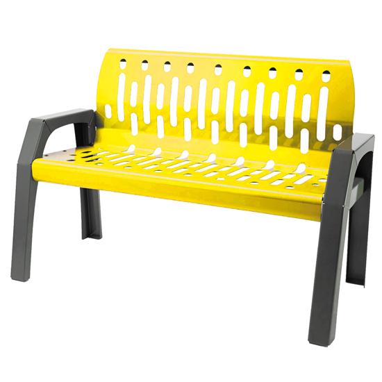 2040-YELLOW - Bench