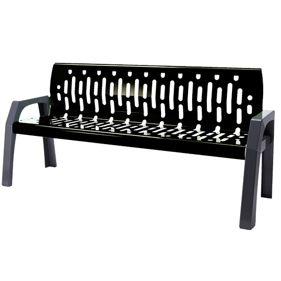 2060-BLACK - Bench