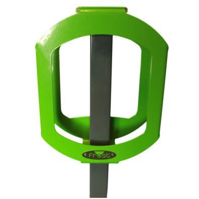2070-GREEN - Bike Rack