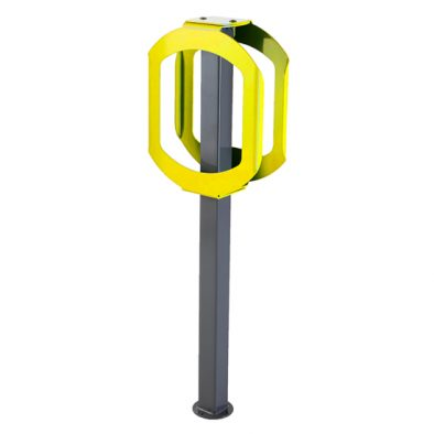 2070-YELLOW - Bike Rack