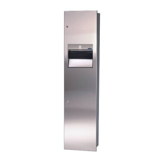 400-14 C - Combination Paper Towel Dispenser/Disposal