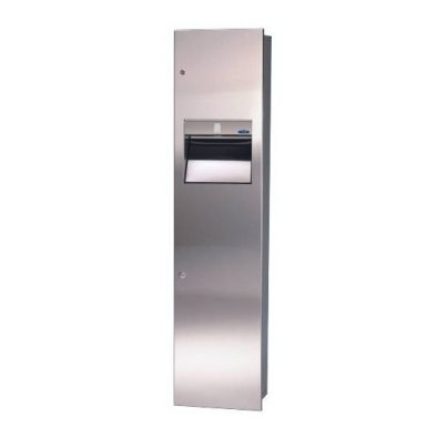 400-14 A - Combination Paper Towel Dispenser/Disposal