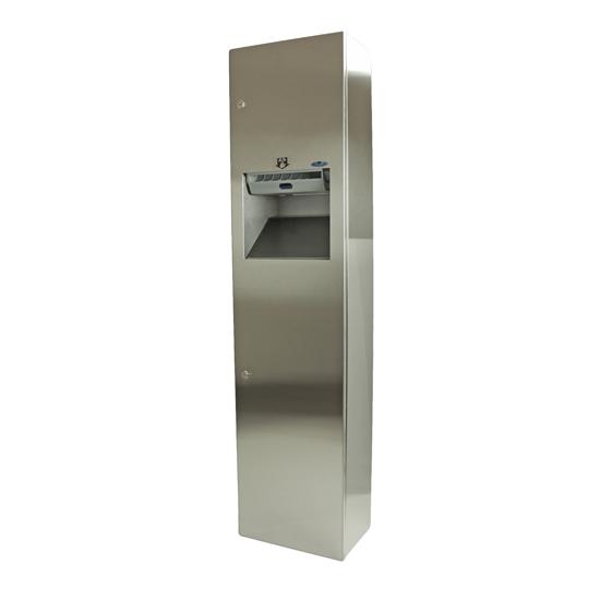 400-70A - Auto Roll Combination Paper Towel Dispenser/Disposal