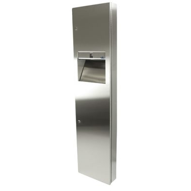 400 B - Combination Paper Towel Dispenser/Disposal