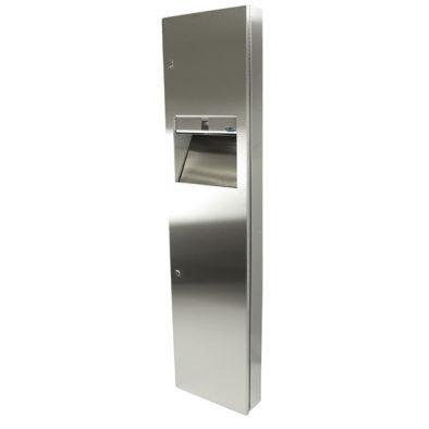 400 C - Combination Paper Towel Dispenser/Disposal