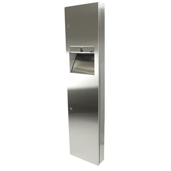 400 A - Combination Paper Towel Dispenser/Disposal