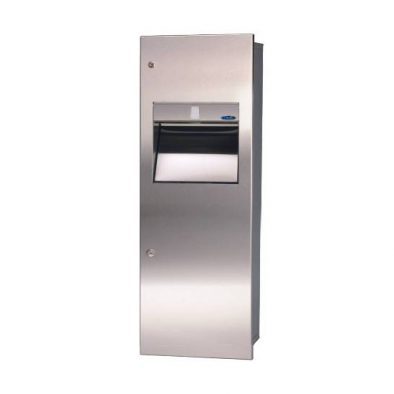 410 B - Combination Paper Towel Dispenser/Disposal