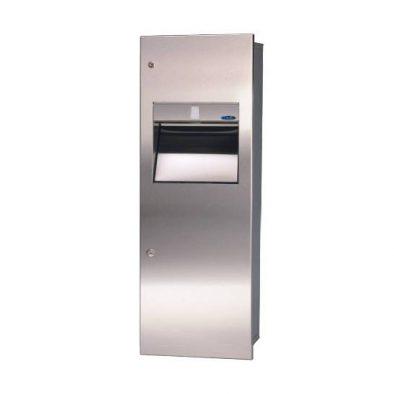 410 A - Combination Paper Towel Dispenser/Disposal