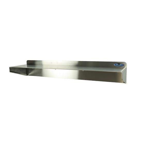 """950-4x18 - Stainless Steel Shelf, 18"""" length, 4"""" Depth"""